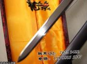 黑檀诸造唐刀|唐刀|花纹钢|★★★|标准长度