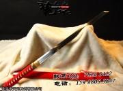 20寸红鞘高碳钢武士唐刀|唐刀|高碳钢|★★|