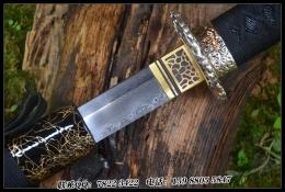 素裹银龙武士刀|花纹钢烧刃|武士刀|★★★