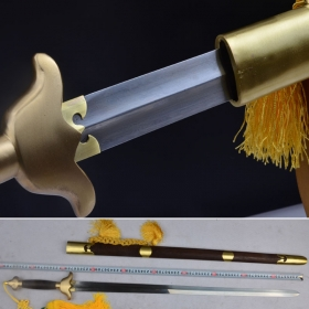 标准武术用剑【花纹钢版】