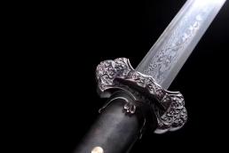 长款唐剑|龙泉宝剑|花纹钢