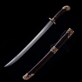 瑞祥清刀|中国名刀|高碳花纹钢