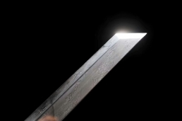 经典扭转纹花纹钢简装唐刀|唐刀|花纹钢|★★★★