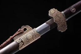 新款豪华八面唐剑 龙泉剑 花纹钢