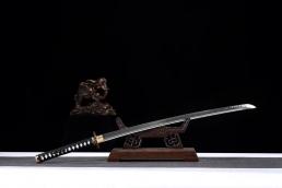 盘龙烧刃武士刀|高碳钢T10|武士刀