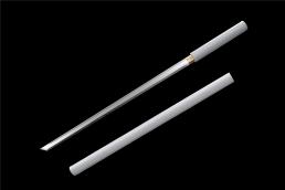 一体素装白皮唐刀|唐刀|中碳钢|★★