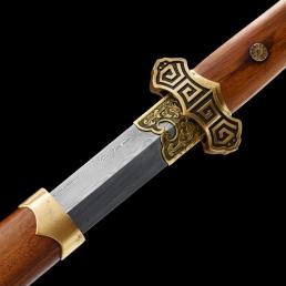 回纹唐剑|花纹钢|龙泉剑|★★★