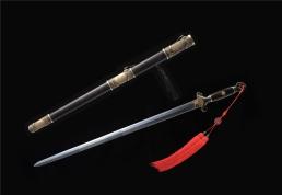 宋剑君子剑 百炼花纹钢 龙泉宝剑 ★★★