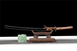 铜装向阳花武士刀|武士刀|高碳钢T10烧刃|★★★