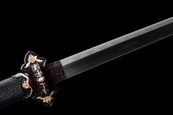 精品三枚烧刃豪华唐刀|唐刀|精钢三枚烧刃|★★★★